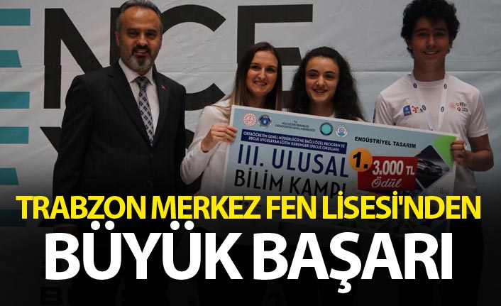 Trabzon Merkez Fen Lisesi'nden büyük başarı