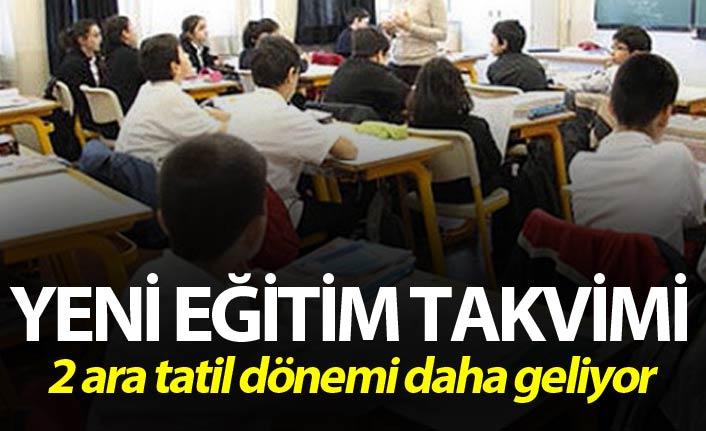 Yeni Eğitim Takvimi açıklanıyor - 2 ara tatil dönemi daha geliyor