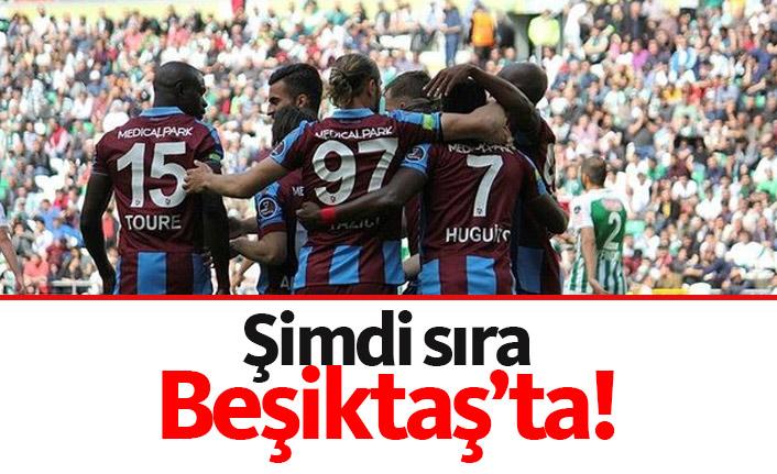 Trabzonspor'da gözler Beşiktaş maçında