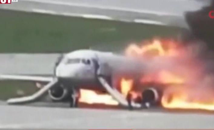 41 kişinin öldüğü uçak kazasının görüntüleri ortaya çıktı!