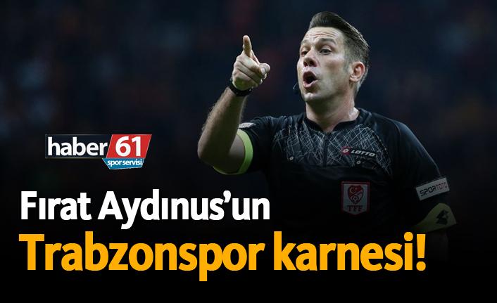 Fırat Aydınus'un Trabzonspor karnesi!