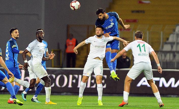 Kasımpaşa Konya maçından kazanan çıkmadı