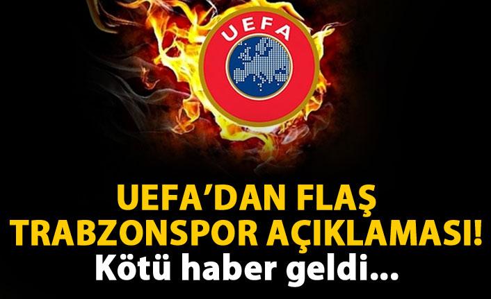 UEFA'dan flaş Trabzonspor kararı! Açıkladılar...