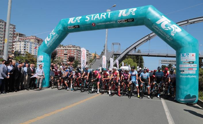Bisiklet Turu Rize'de başladı!