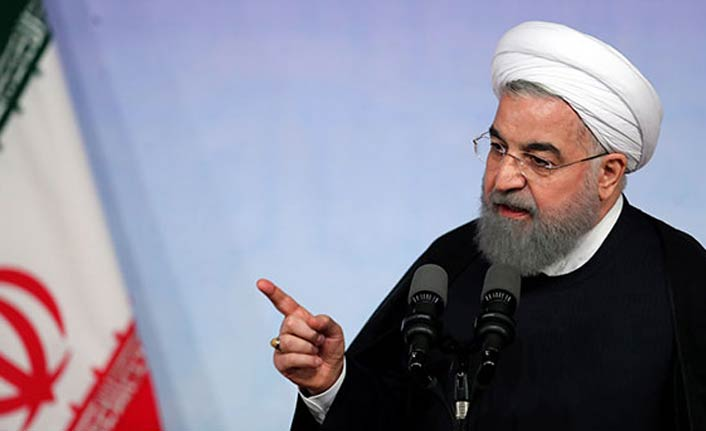 İran Cumhurbaşkanı Ruhani'den ABD'ye mesaj