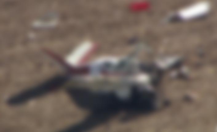 Küçük uçak düştü: 5 ölü