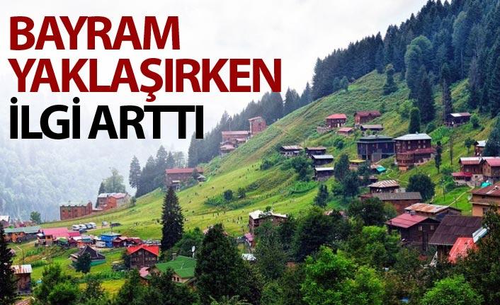 Doğu Karadeniz yaylasına Ramazan Bayramı ilgisi