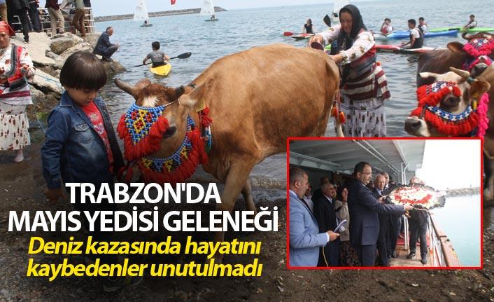 Trabzon'da Mayıs Yedisi geleneği - Deniz kazasında hayatını kaybedenler unutulmadı