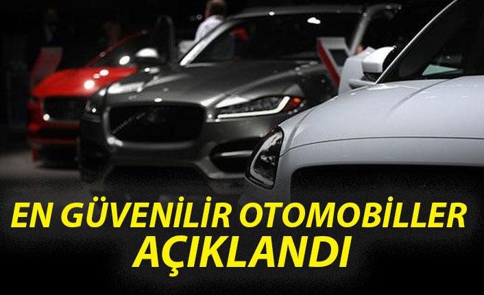 En güvenilir otomobiller açıklandı!