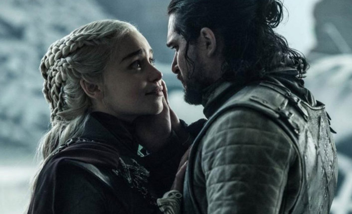 Game of Thrones finaline Twitter'da Jon Snow damga vurdu