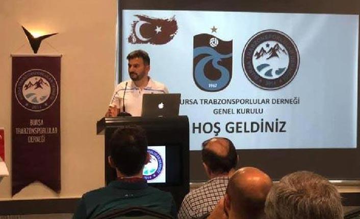 Bursa Trabzonsporlular Derneği'nde kongre gerçekleşti