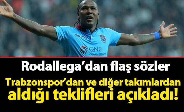 Rodallega'dan flaş transfer açıklaması! Trabzonspor ve diğerleri...