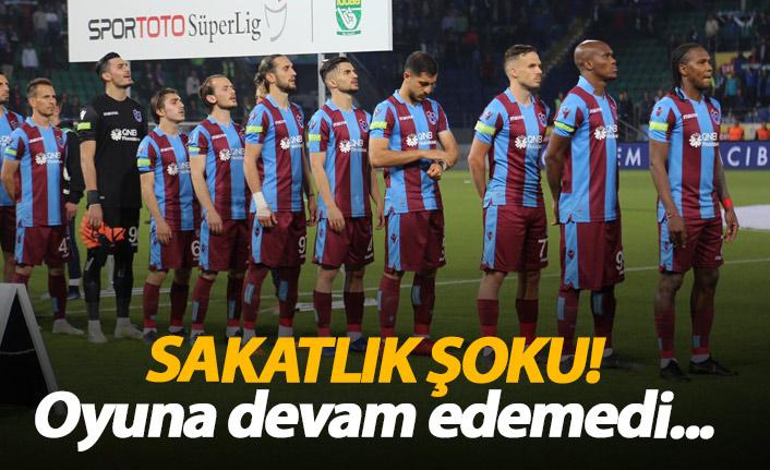 Trabzonspor'a sakatlık şoku!