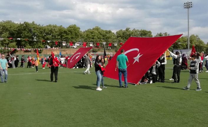 Atatürk'ün Havza'ya gelişinin 100. yıldönümü kutlandı