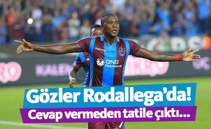 Trabzonspor'da gözler Rodallega'da