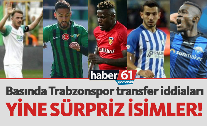 Trabzonspor transfer haberleri - 28.05.2019