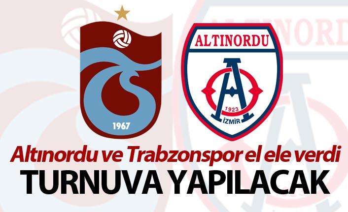 Altınordu ve Trabzonspor el ele verdi - Turnuva yapılacak