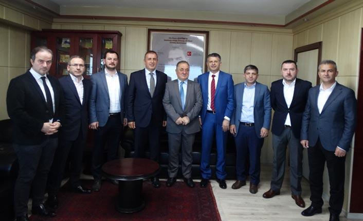 Arsin OSB yönetiminden DKİB'e ziyaret
