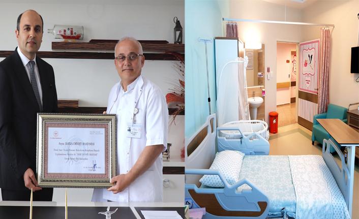 "Bafra Devlet Hastanesine ""Anne Dostu Hastane"" unvanı"