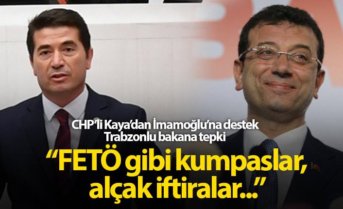 Trabzonlu vekilden Bakan'a İmamoğlu tepkisi!