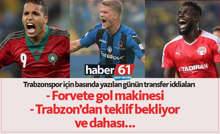 Trabzonspor transfer haberleri - 01.06.2019
