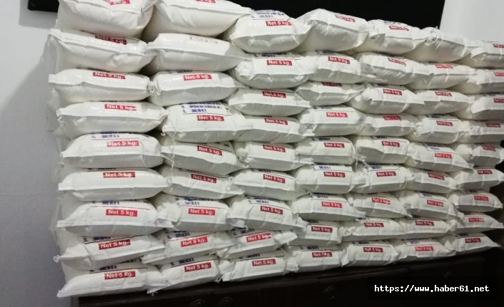 200 aileye gıda yardımı