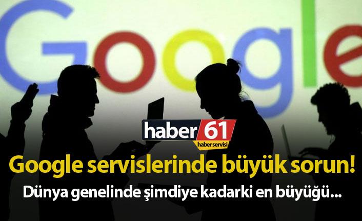 Google Analytics,Drive, Gmail, Youtube ve birçok serviste erişim sorunu!