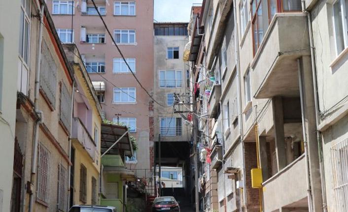 Karadeniz fıkrası gibi apartman