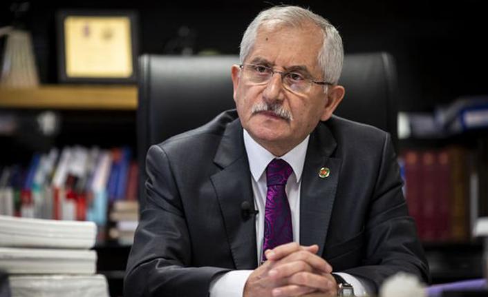 """YSK Başkanı Güven: """"Kanuna aykırı görevlendirmelerle ilgili suç duyurusu HSK'ye gönderildi"""""""