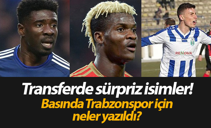 Trabzonspor transfer haberleri - 08.06.2019