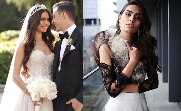 2014 Türkiye Güzeli Amine Gülşe nikah sonrası...