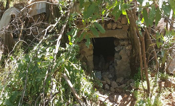 Pençe harekatında sığınaklar imha edildi!