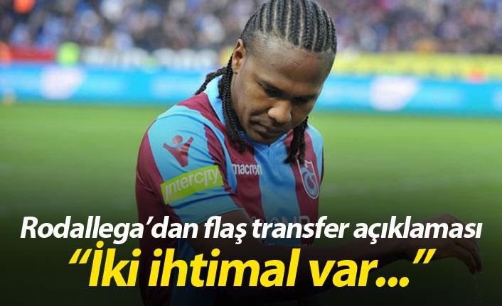 Rodallega'dan flaş transfer açıklaması!