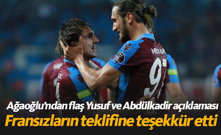 Ağaoğlu Lille'nin teklifine teşekkür etti