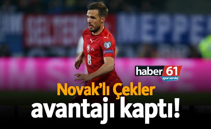 Novak'lı Çekler avantajı sağladı!