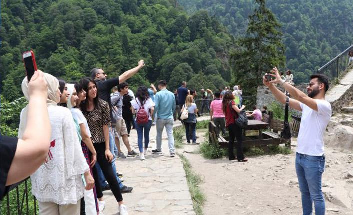 Turistlerden Rize'ye yoğun ilgi