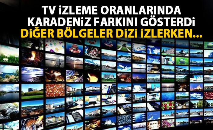 Televizyon izleme oranlarında Karadeniz farkını gösterdi! Herkes dizi izlerken...