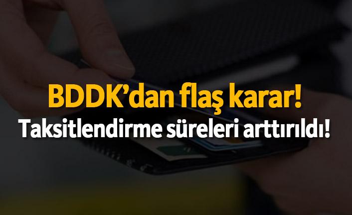 BDDK'dan flaş karar! O eşyalarda taksitler arttırıldı!