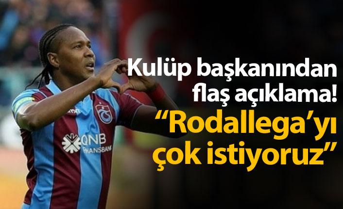 Denizlispor'un Rodallega ısrarı!