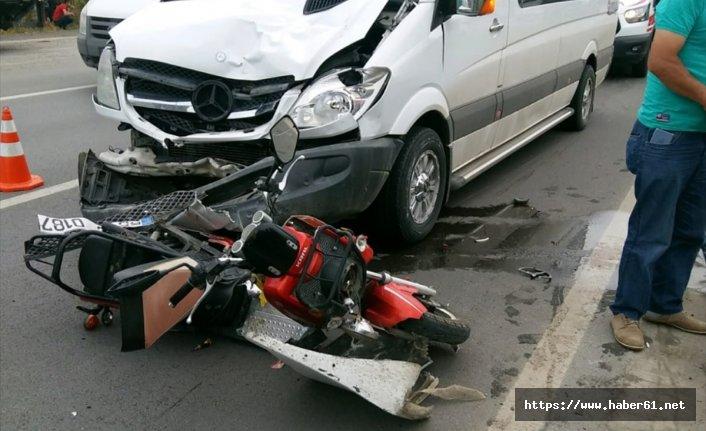 Elektrikli bisiklet ile işe giderken kazada öldü