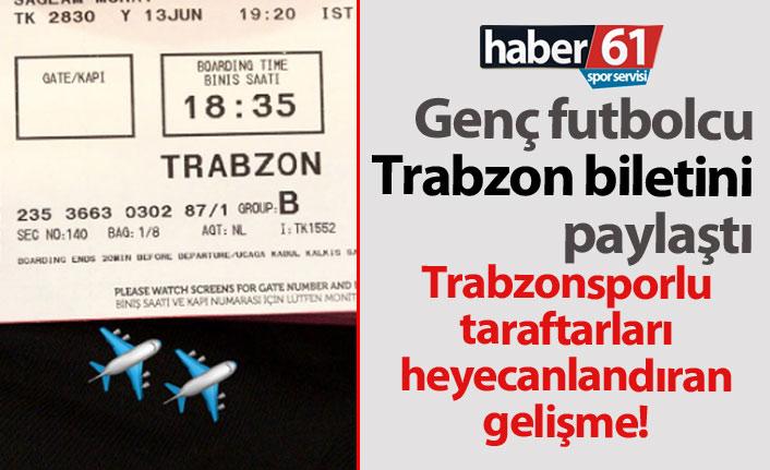 Genç futbolcu Murat Sağlam Trabzon'a geliyor