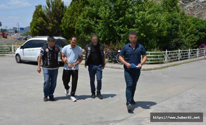 Cezaevinden kaçtı uyuşturucu satarken yakalandı
