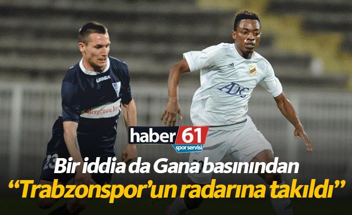 Gana basınından Trabzonspor'a Regan iddiası