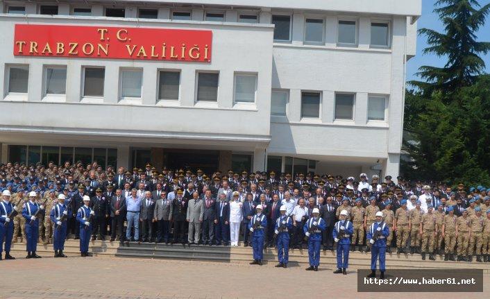 Jandarma'nın 180. Kuruluş yıldönümü Trabzon'da kutlandı