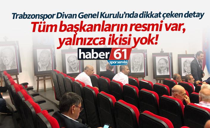 Trabzonspor Divan Kurulu'nda dikkat çeken detay!