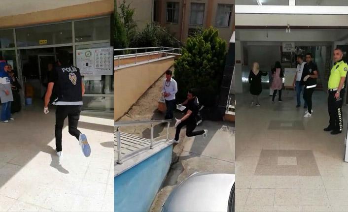 Sakarya'da polis YKS öğrencisini böyle sınava yetiştirdi