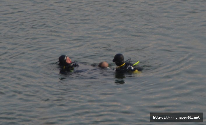 Aracıyla göle uçtu cansız bedeni bulundu!