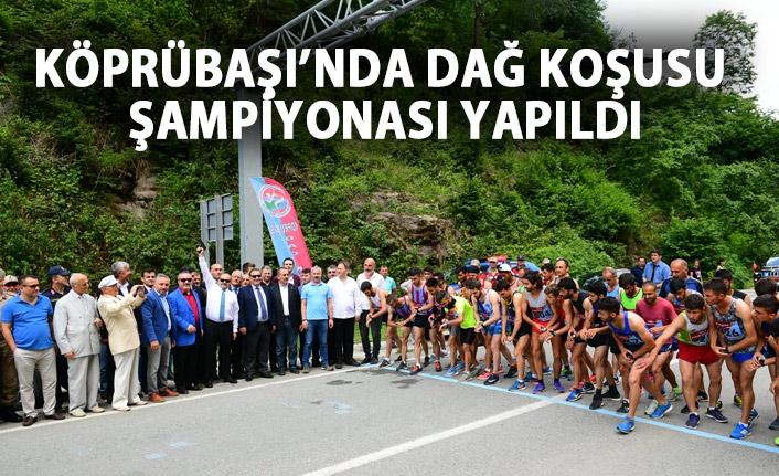 Köprübaşı'nda Dağ Koşusu Şampiyonası yapıldı