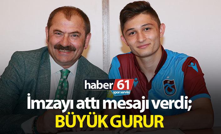 Salih Kavrazlı: Büyük Trabzonspor taraftarı...