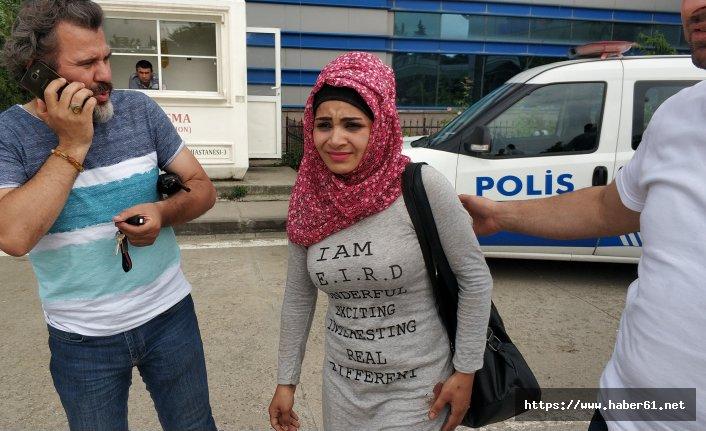 Iraklı kuaför kadın bıçaklı saldırıda yaralandı